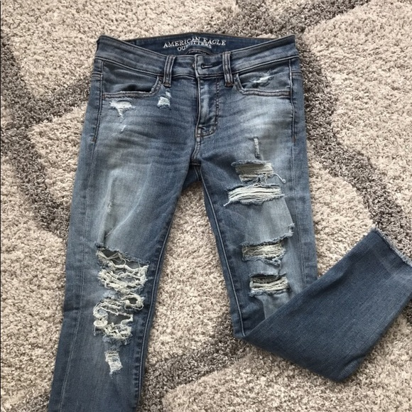 American Eagle Outfitters Denim - AE crop jegging